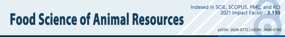 Korean Journal for Food Science of Animal Resources